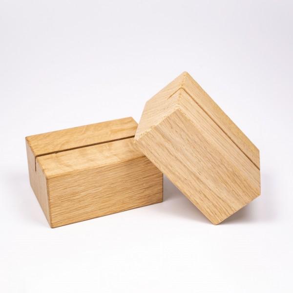 Holzaufsteller Eiche